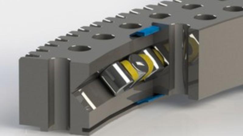Cross-roller bearings