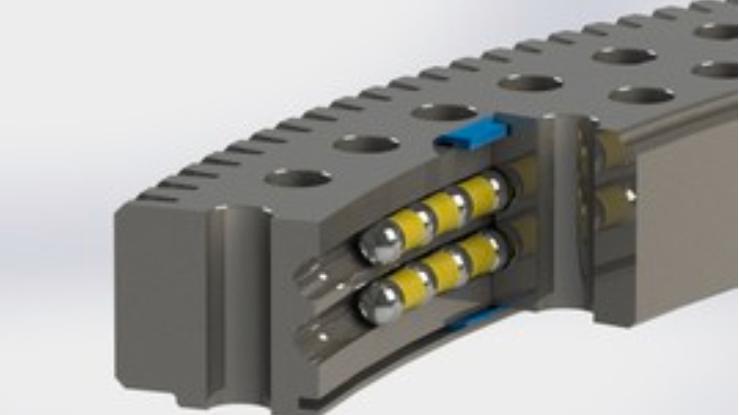 Multi-row ball bearings